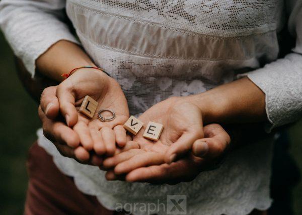 Verlobungsfoto, Hände, Paarshooting